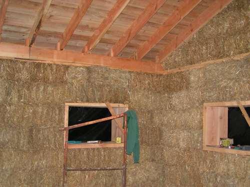La maison durable mur porteur en paille un proc d prouv et fiable - Maison en paille porteuse ...