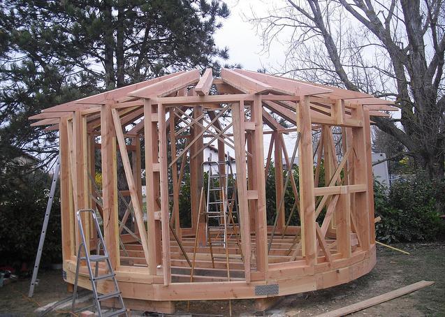 Construire sa maison en bois prix estce que vous vous tes dcid construire votre maison ossature for Prix pour construire une maison